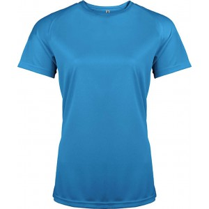 ProAct Női sportpóló, Aqua Blue